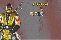 Mortal Kombat - Tournament Edition - ... - User Screenshot